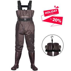 Dark Lightning Fly Fishing Wader