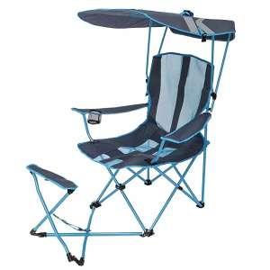SwimWays Kelsyus Original Shade Chair with Ottoman