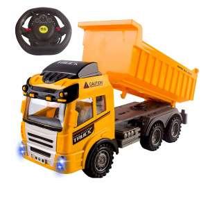 Vokodo Construction Truck 4CH Full Function RC Dump Truck Toy