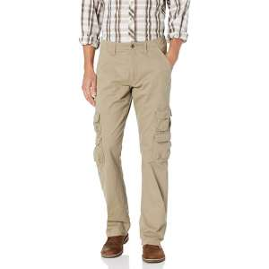 Wrangler Authentics Men's Premium Straight Leg Cargo Pant