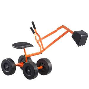 5. Albott Sand Digger- Outdoor Kids Toys Working Crane