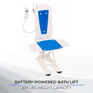 Bathmaster Deltis Bathtub Lifts, Waterproof Hand Controller