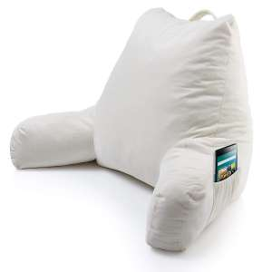 Keen Edge Home Large Backrest Pillow with Arms