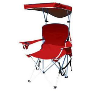 Bravo Sports Red Polyester Four Seasons Chairs with shade