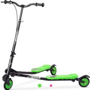 Merax Kids Foldable Swing Scooters