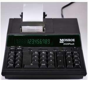 Monroe System 12-Digit Printing Machine