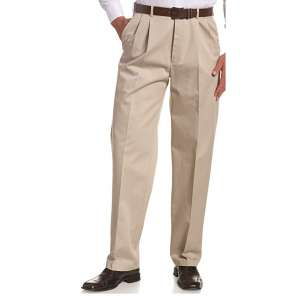 HAGGAR Men's Work-To-Weekend Khaki Pant