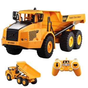 HMANE 1/20 2WD 2.4G RC Dump Truck for Kids Boys