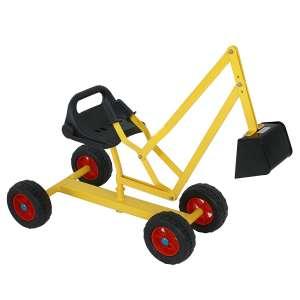 7. Nova Microdermabrasion Sand Digger Backhoe Working Crane Excavator Beach Toy with 4 Wheels