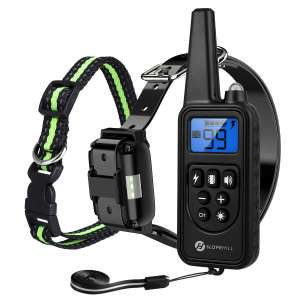 Slopehill Dog Training Waterproof Collar with Remote