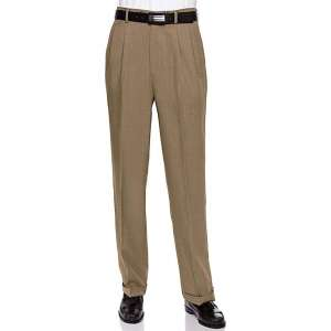 RGM Men's Work to Weekend Pleated Front Dress Pant