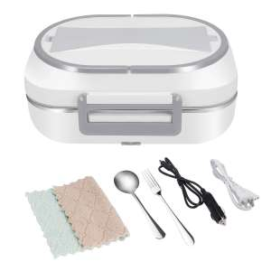 UUTO Electric Heating Food Warmer with a Stainless Steel Container