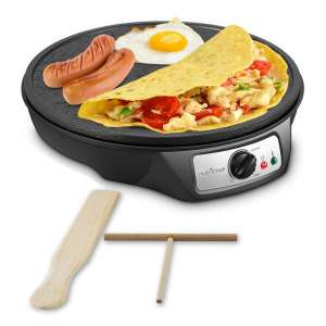 NutriChef 12-Inch Nonstick Electric Crepe pan