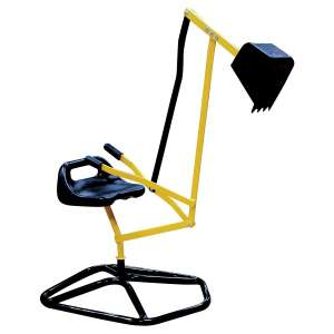 9. Svan Crane Digger- Mechanical Digging Metal Outdoor Toy