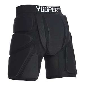 Youper Protective Shorts for Skiing, Snowboarding, and Skating