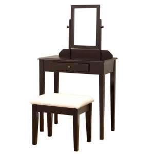 Frenchi Furniture Wooden Vanity Set