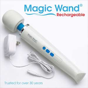 IntiMD Original Wand Massager with a Rechargeable and Cordless Design