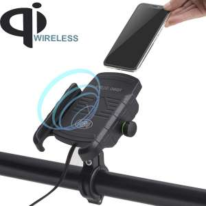 1. iMESTOU Motorcycle Phone Mount (360° Rotatable)