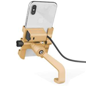 10. Deerno Aluminum Alloy Motorcycle Phone Mount