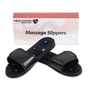 10. HealthPro Sore Tired Feet Massage Slippers