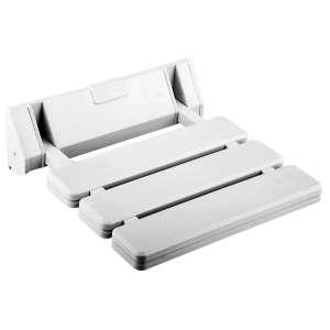 10. Makidar Folding Shower Seat (White)