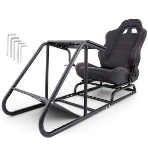 10. VEVOR Driving Simulator Seat with Gear Shifter