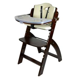 Abiie Wooden High Chair With Tray (up to 250 lbs.)