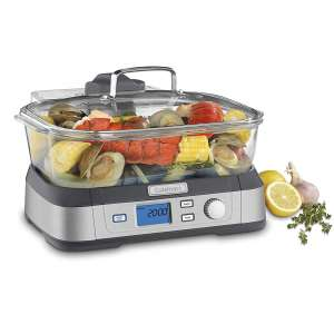2. Cuisinart Digital Glass Steamer