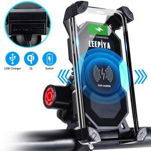 2. Leepiya Motorcycle Phone Mount