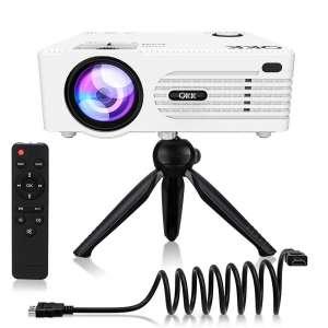 QKK 4200Lux Portable Mini Projector