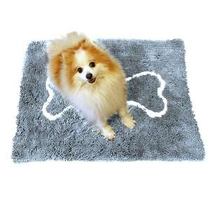 2. Soggy Doggy Doormat with Super Absorbent Chenille Microfiber