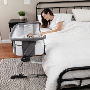 3. Baby Delight Bedside crib & Me Dreamer Bassinet