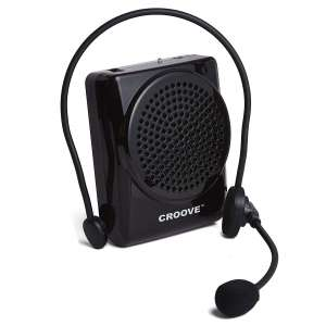 3. Croove Rechargeable Voice Amplifier, 20 Watts