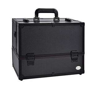 3. Joligrace Makeup Case/ 6 Trays Cosmetic Cases