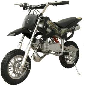 PCC MOTOR DB49A BLACK 49CC 2-STROKE MINI DIRT PIT BLACK BIKE
