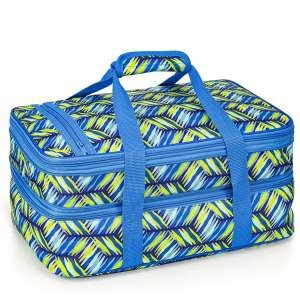 VP Home Insulated Expandable Double Casserole Carrier