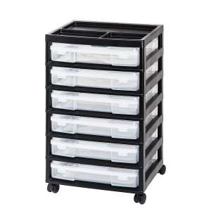 4. IRIS USA Scrapbook Cart