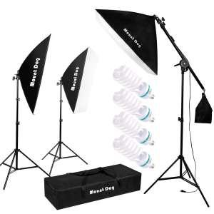 4. MOUNTDOG 1350W Softbox Lighting Kit