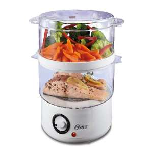 4. Oster Double Tiered Food Steamer