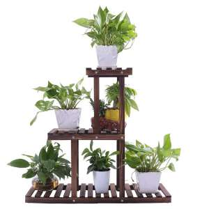 Ufine Wood Plant Stand 3-Tier
