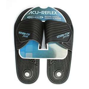 5. Acu- Reflexology Acu-Shiatsu Sandals Massage Sandals. (Women 8-9)