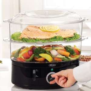 5. BELLA Stackable Baskets Healthy Food Steamer