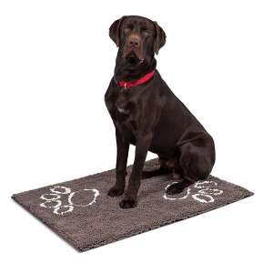 5. Internet's Chenille Dog Mat