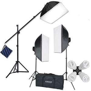 5. StudioFX H9004SB2 2400 Softbox Lighting Kit