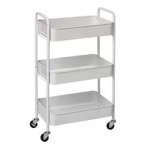 6. CAXXA Rolling Metal Storage Cart