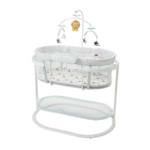 6. Fisher-Price Windmill Soothing Motions Bassinet/ bedside crib