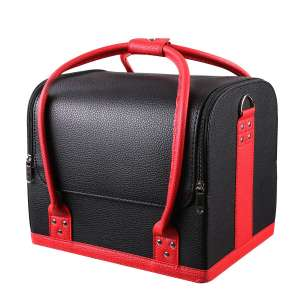 6. HOMFA Makeup Train Case/ Makeup Organizer Bag