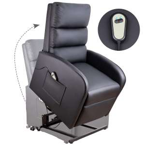 6. Homall Electric Power Lift Chair for Elderly (Black)