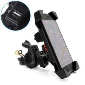 6. Issyzone Motorcycle Phone Mount