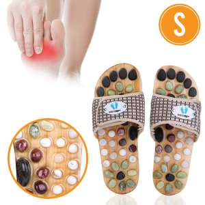 6. Neo Reflexology Sandals Acupressure Massage Slippers Arch Pain Relief for 6-7 Feet Size Women
